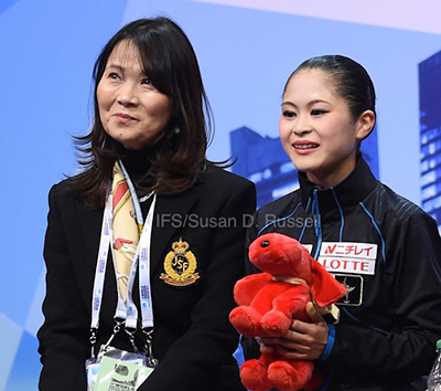 Mie Hamada Coaching New Generation of Japanese Ladies