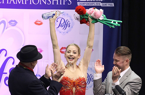 Gracie Gold Saves Best For Last