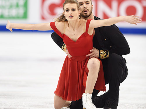 Papadakis & Cizeron Dance to Short Lead