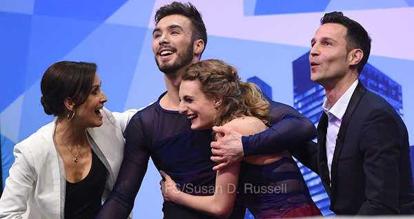 Golden Moment For Papadakis & Cizeron