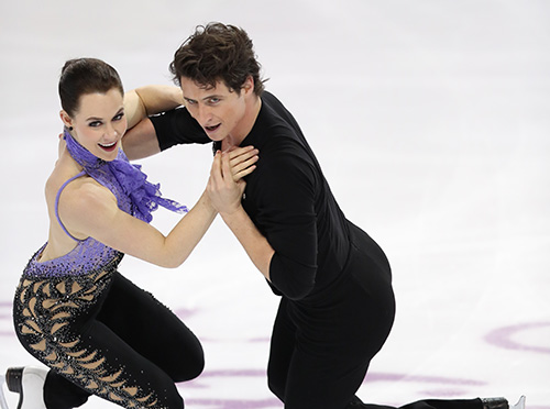 Virtue and Moir on the Comeback Trail