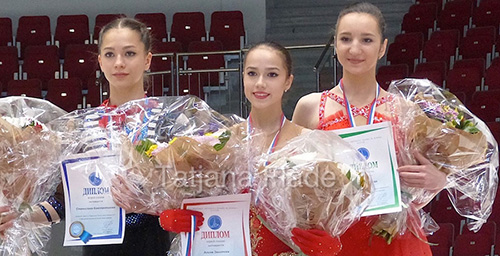 Zagitova, Aliev Capture Junior Titles