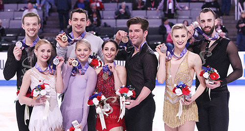 Knierims Twirl to Pairs Gold