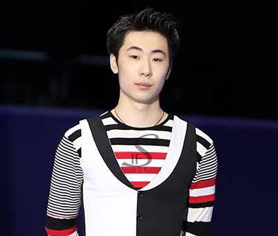 Boyang Jin Training in China