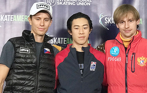 Nathan Chen Captures Skate America Title