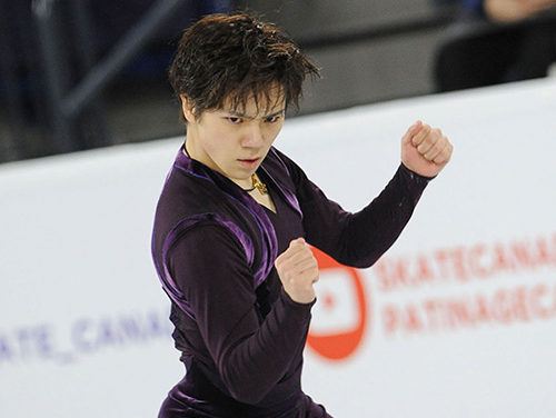 Shoma Uno Claims Skate Canada Gold