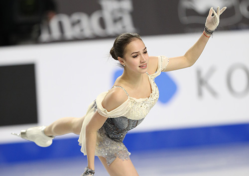 Zagitova Captures Lead at Rostelecom Cup