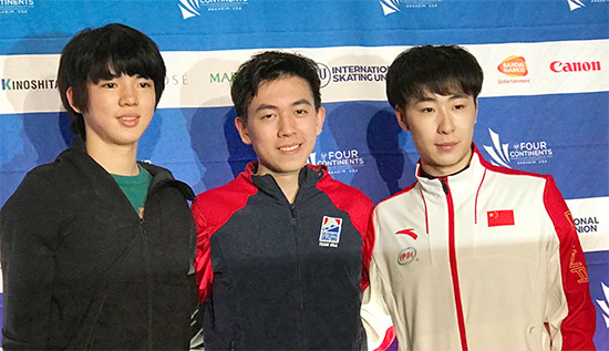 Americans Lead at Four Continents