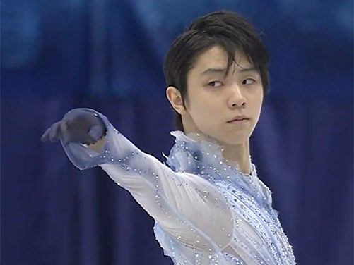 Hanyu Scores Runaway Lead at NHK Trophy