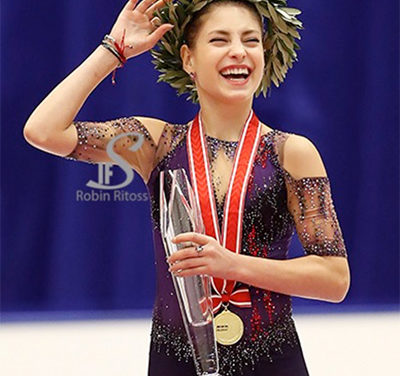 Alena Kostornaia Strikes Gold at NHK Trophy