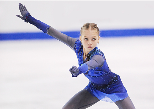 Russian Team Strike Gold at Rostelecom Cup