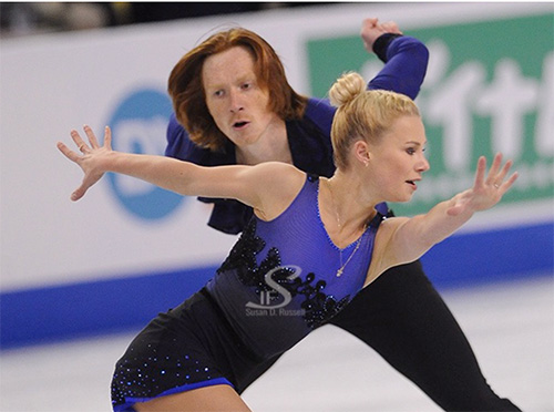Tarasova Morozov Win Short Program in Krasnoyarsk
