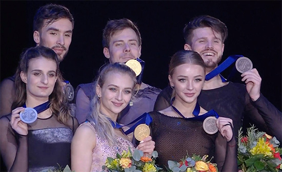 Sinitsina and Katsalapov Strike Gold in Graz