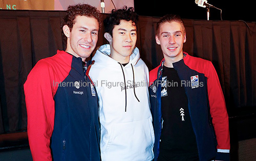 Nathan Chen En Route to National Title