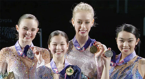 Liu Captures Second U.S. Crown