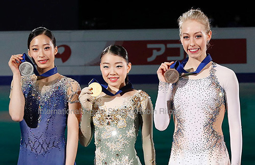 Second Four Continents Crown for Kihira