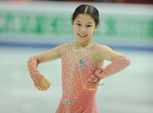 Alysa Liu Sets Sights on World Junior Podium