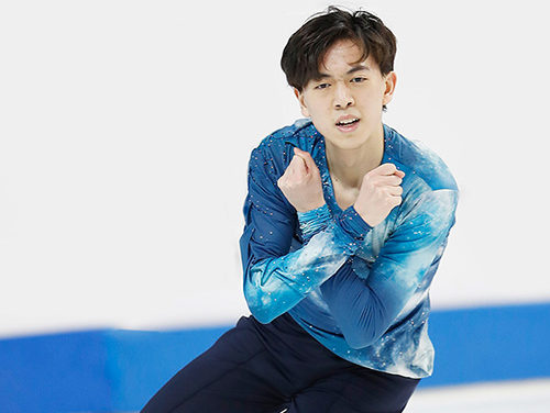 Vincent Zhou Rises Above the Challenges